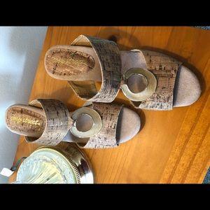 Double strap shoes